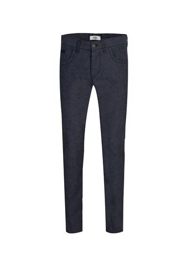 Kiğılı Jean Pantolon Mavi